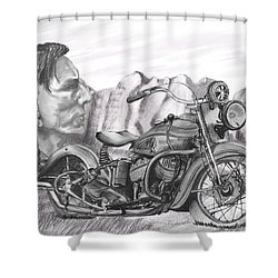 39 Scout Shower Curtain