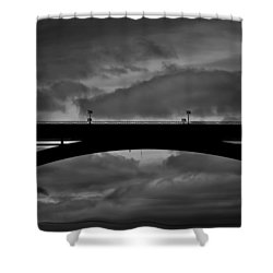 39 Seconds Shower Curtain