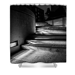 3am Portland Shower Curtain by Bob Orsillo