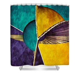 3d Abstract 22 Shower Curtain