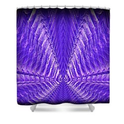 Abstract 104 Shower Curtain by J D Owen