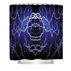 Abstract 115 Shower Curtain by J D Owen