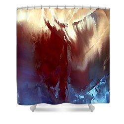 Aphrodite Anadyomene Shower Curtain