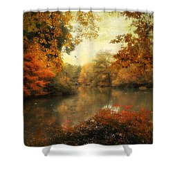 Autumn Afternoon  Shower Curtain by Jessica Jenney