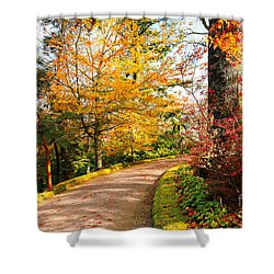 Autumn Colors Shower Curtain by Gaspar Avila