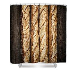 Baguettes Shower Curtain by Elena Elisseeva