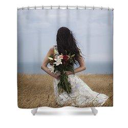 Bouquet Of Flowers Shower Curtain by Joana Kruse