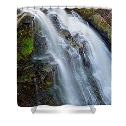 Brandywine Falls Shower Curtain by Frozen in Time Fine Art Photography