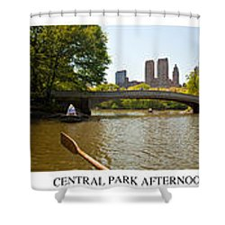 Central Park Afternoon Shower Curtain by Madeline Ellis