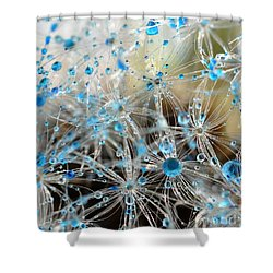 Crystal Flower Shower Curtain