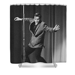 Elvis Presley 1956 Shower Curtain by The Harrington Collection