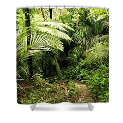 Forest No1 Shower Curtain