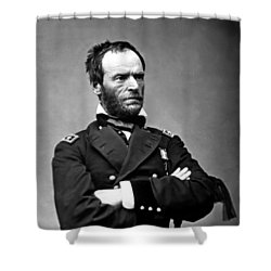 General William Tecumseh Sherman Shower Curtain by War Is Hell Store
