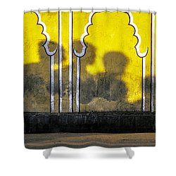 4 Is Company Shower Curtain