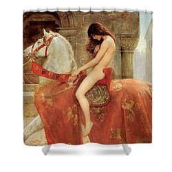 Lady Godiva Shower Curtain by John Collier