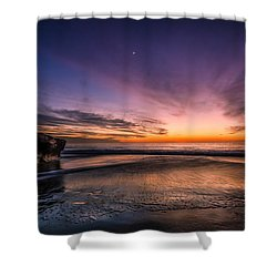 4 Mile Beach Sunset Shower Curtain