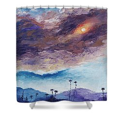 Palm Springs Summer Shower Curtain