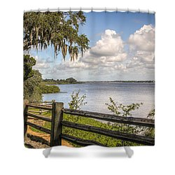 Shower Curtain featuring the photograph Philippe Park by Jane Luxton