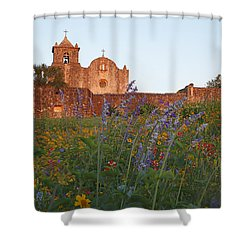 Presidio La Bahia 2 Shower Curtain by Susan Rovira