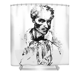 Rene Laennec (1781-1826) Shower Curtain by Granger