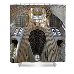 St Edmundsbury Cathedral  Shower Curtain