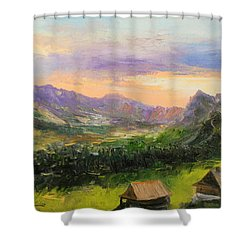 Tatry Mountains- Poland Shower Curtain