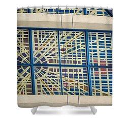 Texture Shower Curtain