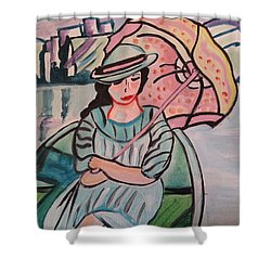 Touring Europe Shower Curtain