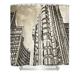 Willis Group And Lloyd's Of London Art Shower Curtain