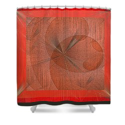 Wonder Shower Curtain by Iris Gelbart