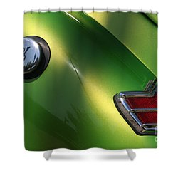 40 Ford - Tank N Tail Light-8527 Shower Curtain by Gary Gingrich Galleries