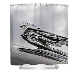 '41 Goddess Shower Curtain by Dennis Hedberg
