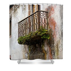 What It Once Was Shower Curtain by Rene Triay Photography