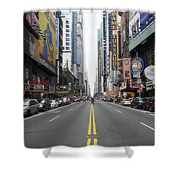42nd Street - New York Shower Curtain