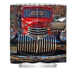 46boty Shower Curtain