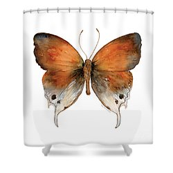 47 Mantoides Gama Butterfly Shower Curtain