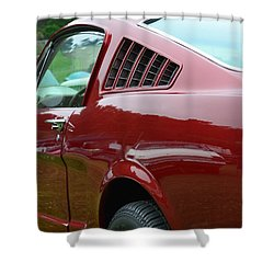 Classic Mustang Shower Curtain by Dean Ferreira