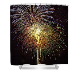 4th July #15 Shower Curtain by Diana Powell