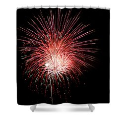 4th Of July 8 Shower Curtain by Marilyn Hunt