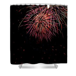 4th Of July 9 Shower Curtain by Marilyn Hunt