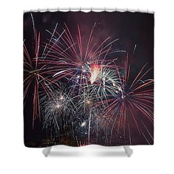 4th Of July Fireworks Portland Oregon 2013 Shower Curtain by Jit Lim