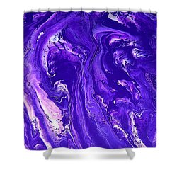 Abstract 22 Shower Curtain by J D Owen