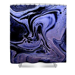 Abstract 23 Shower Curtain by J D Owen