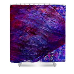 Beneath The Waves Series Shower Curtain by Jack Zulli
