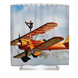 Breitling Wingwalkers Team Shower Curtain