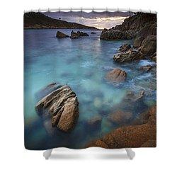 Shower Curtain featuring the photograph Chanteiro Beach Galicia Spain by Pablo Avanzini