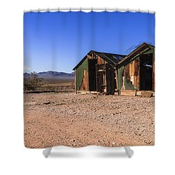 Death Valley Shower Curtain by Muhie Kanawati