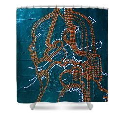 Dinka - South Sudan Shower Curtain by Gloria Ssali