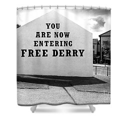Free Derry Corner 5 Shower Curtain