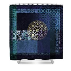 Islamic Motives Shower Curtain by Corporate Art Task Force